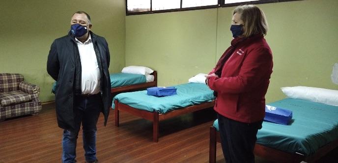 Cabe destacar que estas dependencias son parte de los seis albergues en la Región que se habilitaron para la temporada de invierno en las comunas de Rancagua, Graneros, Requinoa y San Fernando.