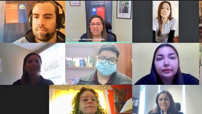 """Con la participación de 140 asistentes se desarrolló el seminario de """"Estimulación Temprana en contexto Covid-19"""", organizado por el Servicio Nacional de la Discapacidad de la región de Atacama, la Mesa Intersectorial de Educación Inclusiva y la Ilustre Municipalidad de Freirina."""